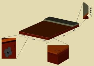 Dioramamodul til Modeltraktorklubben